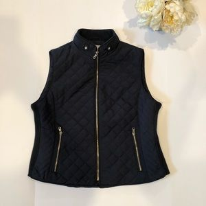 Fall Must Have! Gorgeous Deep Navy Puffer Vest